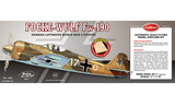 Focke-Wulf Fw190 1/16 Laser Cut Balsa Model Kit