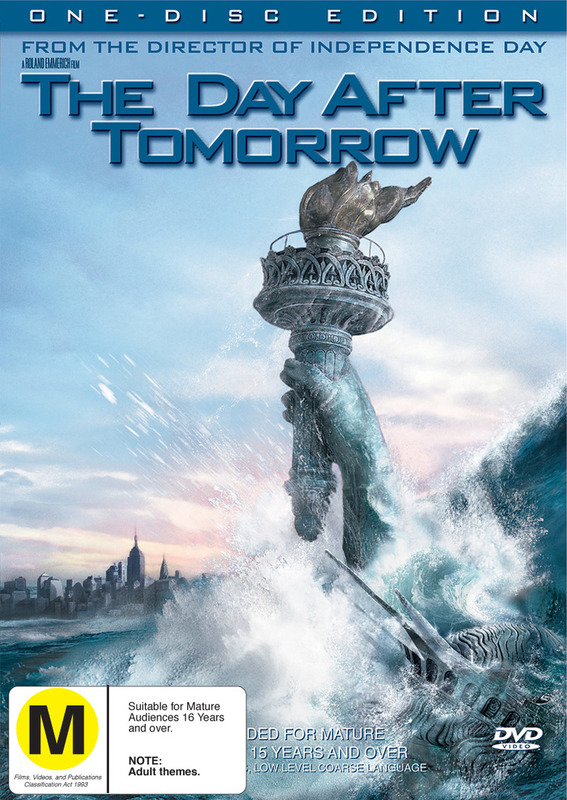 The Day After Tomorrow (One Disc) on DVD