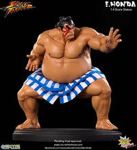 Street Fighter E. Honda 1/4 Statue