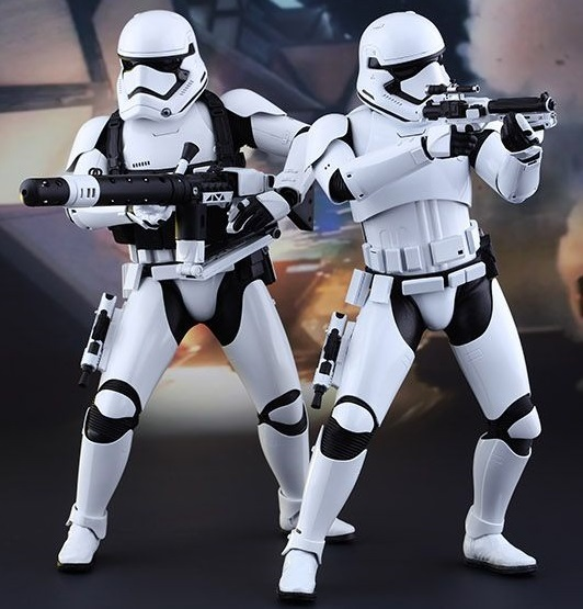 "Star Wars: The Force Awakens - 12"" First Order Stormtroopers Figure Set"