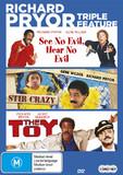 Richard Pryor Triple Feature on DVD