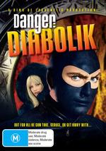 Danger - Diabolik on DVD