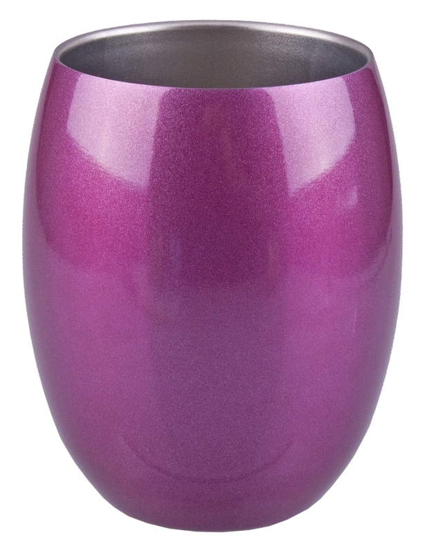 Oasis Stainless Steel Insulated Tumbler - Sapphire Pink (320ml)