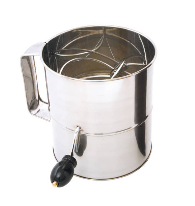 Flour Sifter Lge 8 Cup