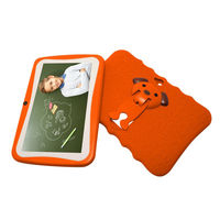 Kids 7-Inch Android Tablet with Protective Case - Orange