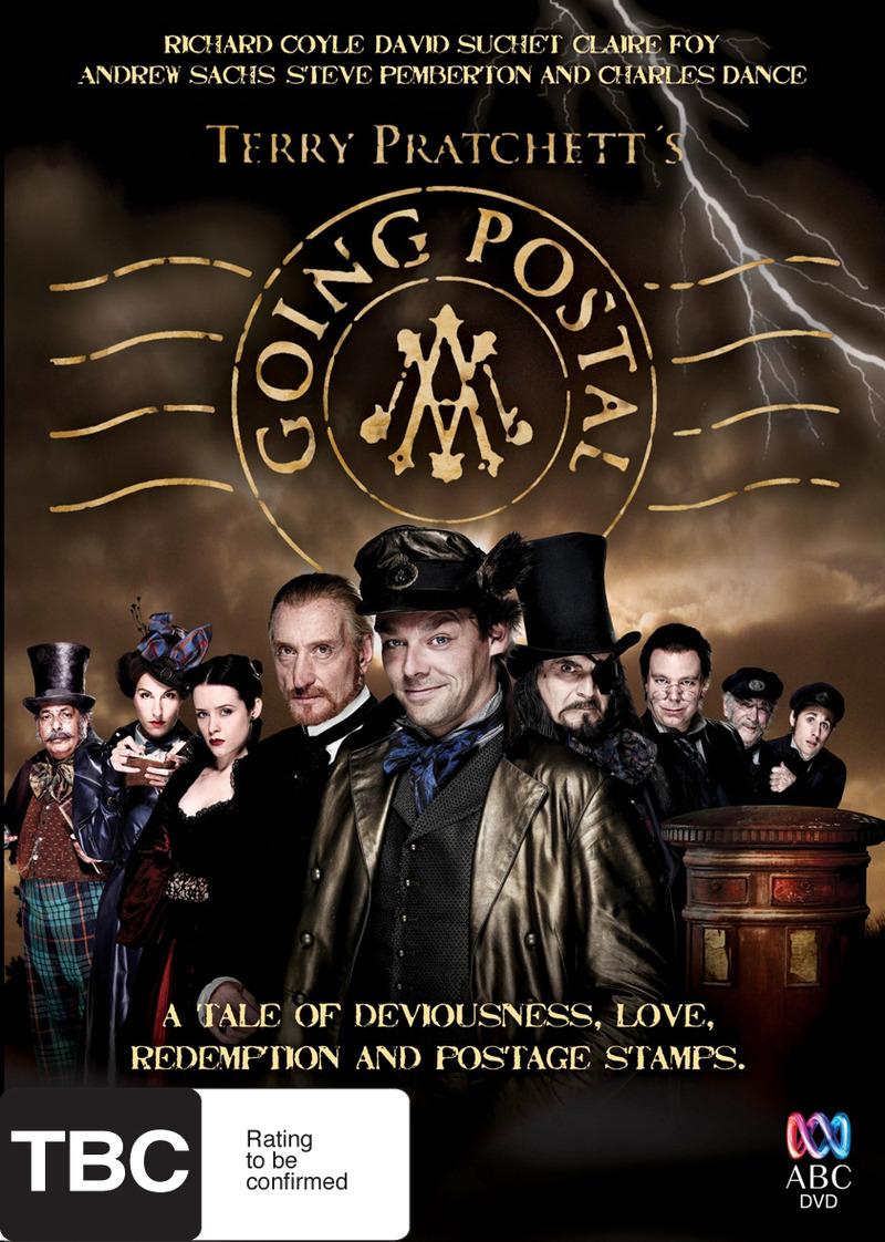 Terry Pratchett's Going Postal DVD image