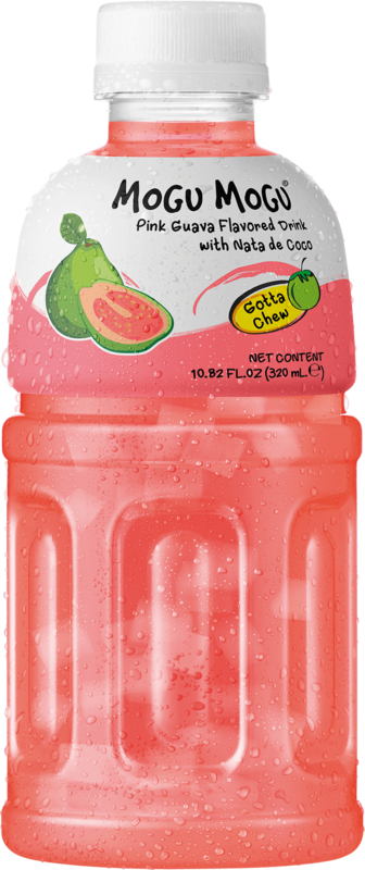 Mogu Mogu: Pink Guava Flavored Drink 320ml