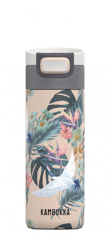 Kambukka: Etna 3-in-1 Snapclean Travel Mug - Paradise Flower (500ml)
