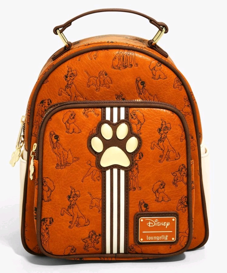 Loungefly: Disney Dogs Mini Backpack image