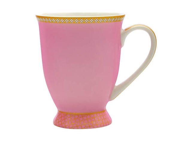 Maxwell & Williams Teas & C's: Kasbah Classic Footed Mug - Hot Pink (300ml)