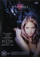 Buffy Season 1 - Disc 3 on DVD