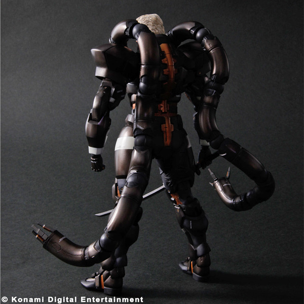 Metal Gear Solid 2 Play Arts Kai Solidus Snake Action Figure image