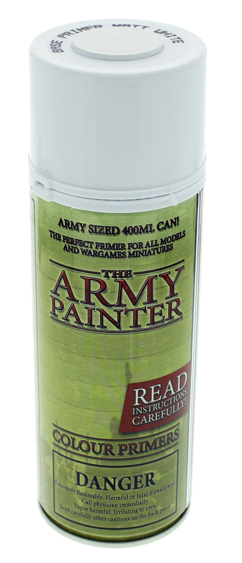 Army Painter Matt White Spray Primer