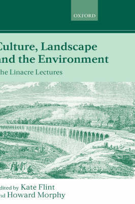 Culture, Landscape, and the Environment image