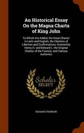 king john essay King john isn't shakespeare's only murderous uncle compare and contrast him to richard iii, who also orders the deaths of his little nephews in the play richard iii.
