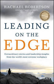 Leading on the Edge by Rachel Robertson