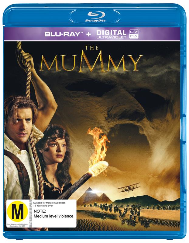 The Mummy on Blu-ray