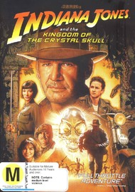 Indiana Jones and the Kingdom of the Crystal Skull on DVD