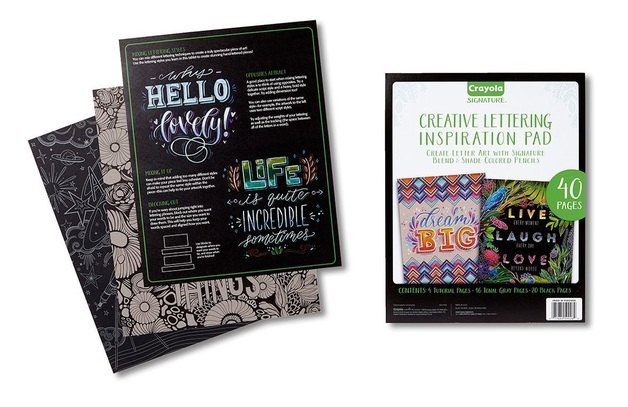 Crayola: Signature - Creative Lettering Inspiration Pad