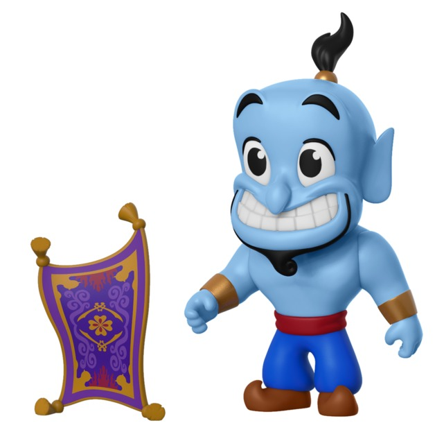 Aladdin: Genie with Carpet - 5-Star Vinyl Figure
