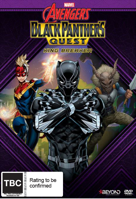 Avengers Assemble: Black Panther's Quest - King Breaker on DVD