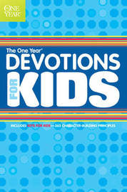 The One Year Book of Devotions for Kids by Children's Bible Hour image
