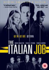 The Italian Job on DVD