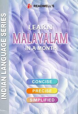 Learn Malayalam in a Month by M. Nair