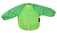 Mum 2 Mum Sleeved Wonder Bib (6-18 Months) - Lime