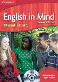 English in Mind Level 1 Student's Book with DVD-ROM: Level 1 by Herbert Puchta