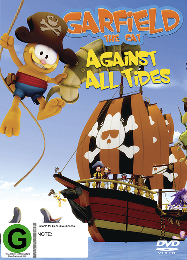 Garfield the Cat: Against All Tides on DVD image