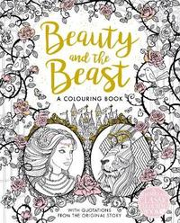 The Beauty and the Beast Colouring Book by Gabrielle-Suzanne De Villeneuve image