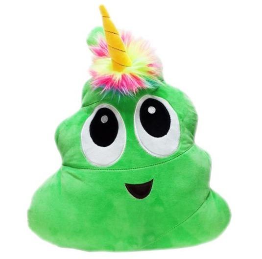 """Poonicorn: 16"""" Novelty Plush - (Green) image"""