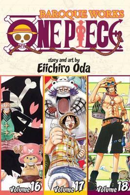 One Piece Omnibus 6: Baroque Works 16-17-18 (3 Books in 1) by Eiichiro Oda