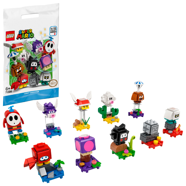 LEGO Super Mario: Mystery Character Pack #2 - (71386)