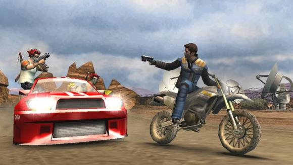 Pursuit Force for PSP image