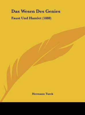 Das Wesen Des Genies: Faust Und Hamlet (1888) by Hermann Turck image