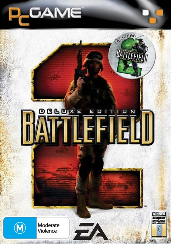 Battlefield 2 Deluxe Edition (CD) for PC Games