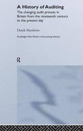 A History of Auditing by Derek Matthews
