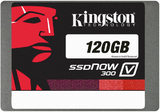 "120GB Kingston SSDNow - V300 Solid State Drive (2.5"", up to 450MB/s)"