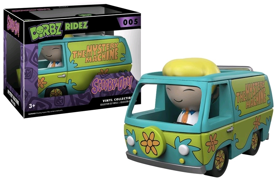 Scooby-Doo: Mystery Machine & Fred - Dorbz Ridez Vinyl Set image