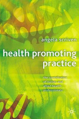 Health Promoting Practice by Angela Scriven image