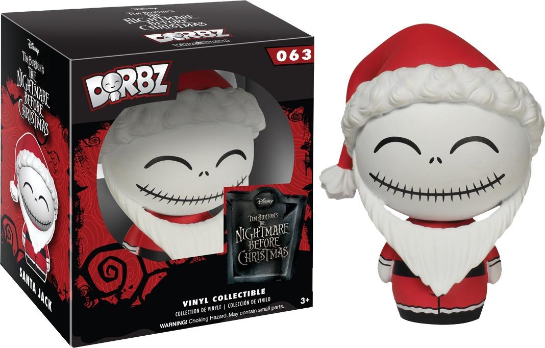 The Nightmare Before Christmas - Santa Jack Dorbz Vinyl Figure image