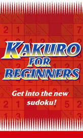Kakuro for Beginners Red by Puzzle Media Ltd. image