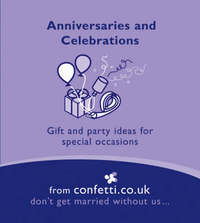 Anniversaries and Celebrations by confetti.co.uk image