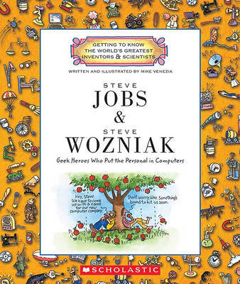 Steve Jobs and Steve Wozniak by Mike Venezia