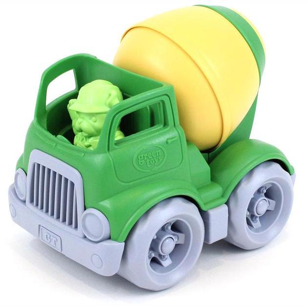 Green Toys: Construction Mixer - Green