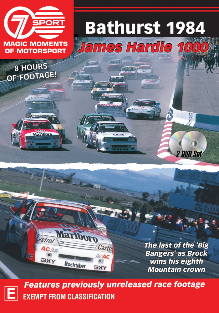 Magic Moments Of Motorsport: Bathurst 1984 on DVD image