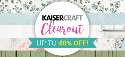 Up to 40% off Kaisercraft