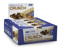 Optimum Nutrition: Protein Crunch Bars - Toffee & Pretzel (12x57g)